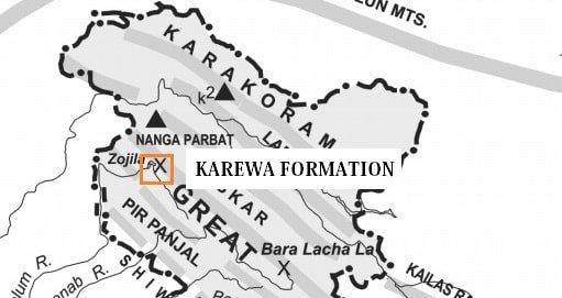 Karewa formation